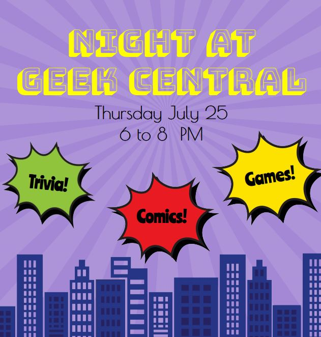 Night at Geek Central 2