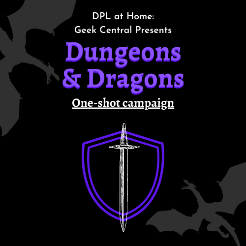 Dungeons & Dragons Cover Graphic