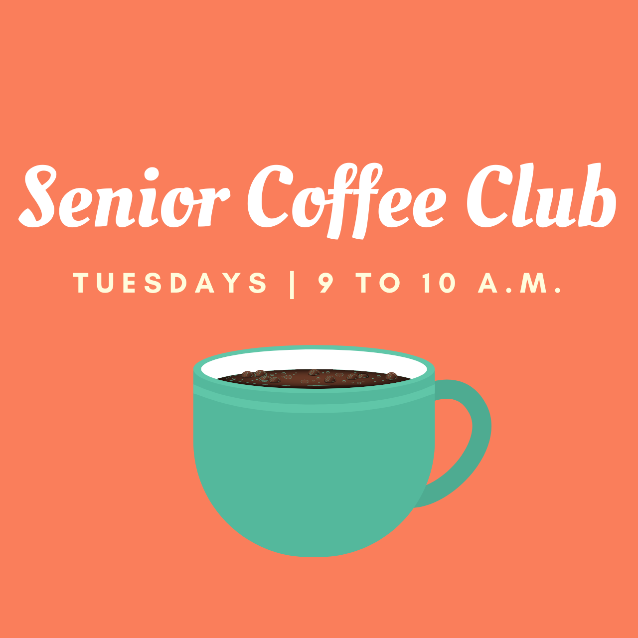 Senior Coffee Club