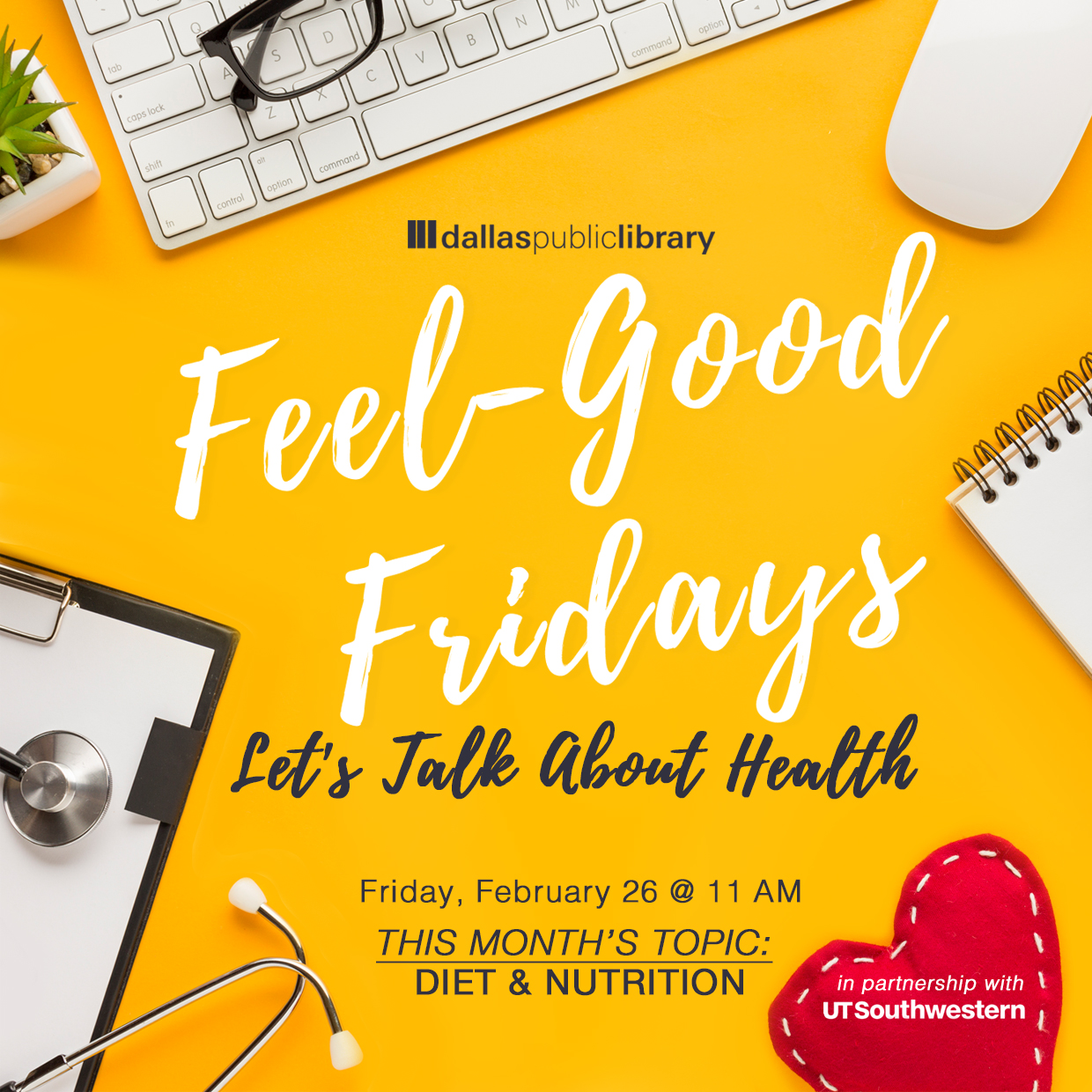 Feel Good Friday Health graphic