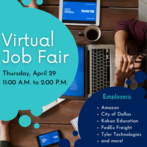 Virtual Job Fair Cover Image