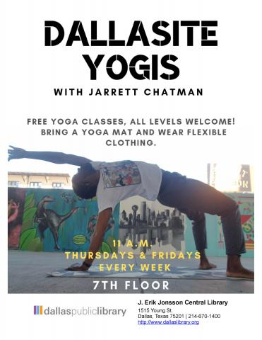 Dallasite Yogis flyer
