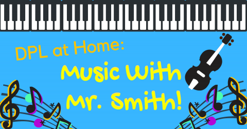 Music with Mr. Smith graphic
