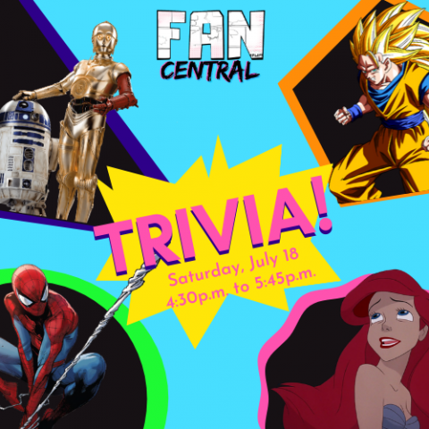 FanCentral The Virtual Experience Cover Graphic for Trivia