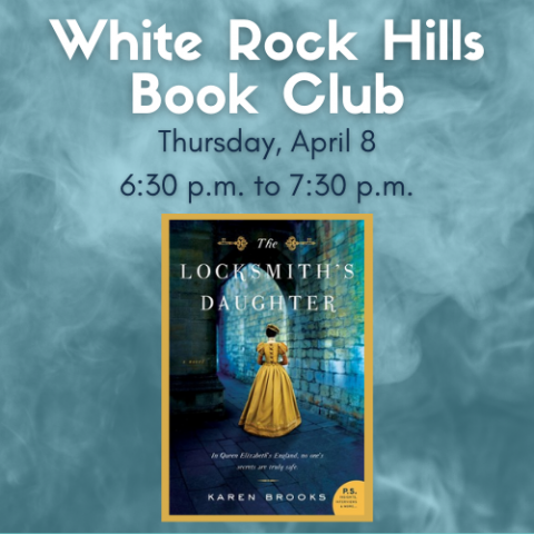 White Rock Hills Book Club Cover Graphic